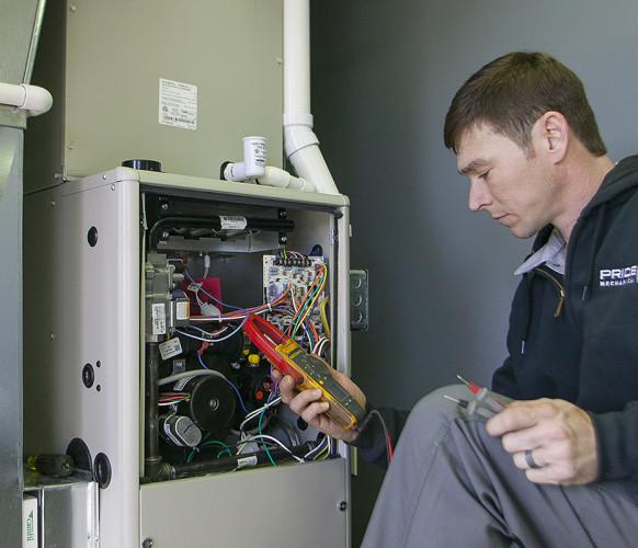best heating furnace service repair kansas city Pride Mechanical