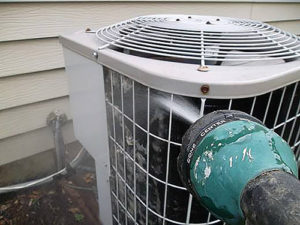 Cleaning Air Conditioner AC Coils Kansas City